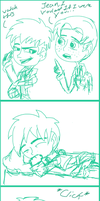 AoT/SnK Doodle Comic by Maygirl96