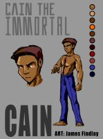 Cain The Immortal Character Concept by TH3GADFLYINFLIGHT