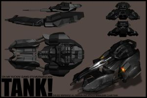 Serpentile Hover Tank by ArtGhoul71