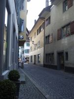 Rapperswil Alley by BoxedMischief