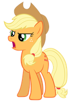 Applejack is ready by Myardius
