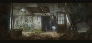 Abandoned Passageway by KillerBe