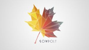 LowPoly Maple Leaf by TheHairyFox