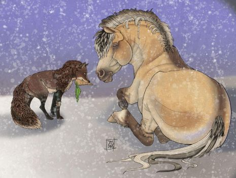 Warmth to drive the cold winte by sighthoundlady