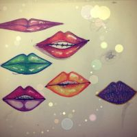 Different Lips ,Practice by Crimsarty7
