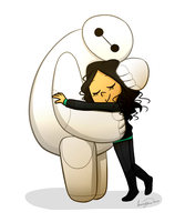 Baymax and Me by Elena114