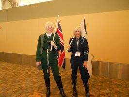 Otakon 2012 - England and Prussia by Angel1224