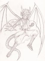 Natsu mastering Dragon Force by Nemesis-the-Observer