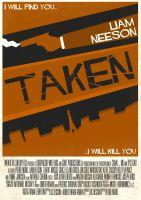 Taken Poster by W0op-W0op