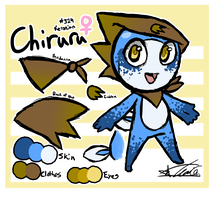 Chiruru Ref by ToLoveaKiwi