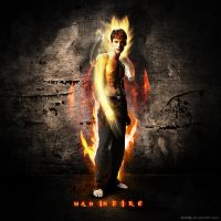 Man In Fire by alidesignr