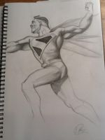 Superman kingdom come style by Scottheneghan