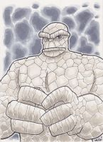FF's THE THING Copic by phymns