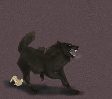 Ymir the Wolf by CuriousInferno