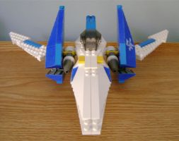 Profile Arwing II by archus7