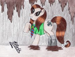 Birthday Gift: Pony Scout by Elieth