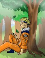 Naruto, for Darkangeltears66 by flightangel