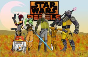 Star Wars Rebels by momarkey