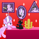 Diamond and Dazzle: Balance by MagerBlutooth