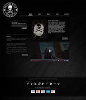 Death Wish Coffee Website Re-design by LypticDesigns