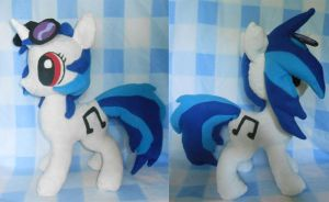 Vinyl Scratch/DJ PON-3 Plush - For Sale by NoxxBunny
