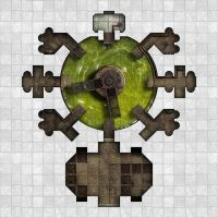 Arkay Salt caverns - Area 4 - Acid Pit by dasomerville