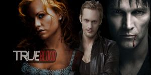 True Blood Facebook cover by Mortema