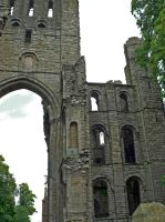 Kelso Cathedral - ruins by Hansmar