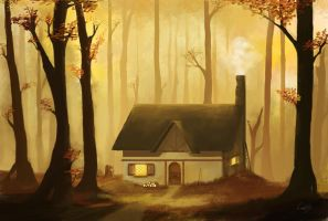 Peaceful cottage by Leozo