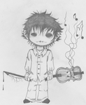 Malcolm Grimshire the Violin Boy by ViolinBoy18