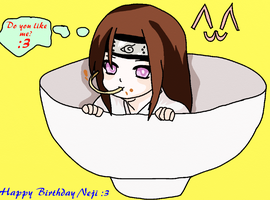 Happy Birthday Neji!!! x3 by SenninArtistModo