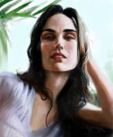 Jennifer Connelly sketch by tonyob