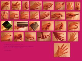The Big Pink Hand Ref Sheet by CatnipMafia