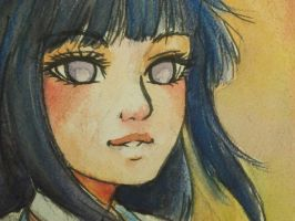 Hinata watercolor by shelly-14