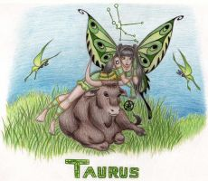 Taurus Faerie by ZukosSoul