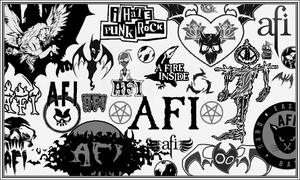 AFI brush set for Photoshop. by Articia4
