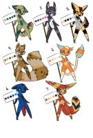 Anthro Adoptables : 20 Points by Sports3388