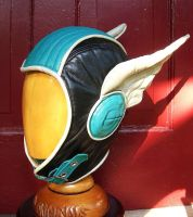 Hermes Winged Leather Aviator Hat by LeatherHead72