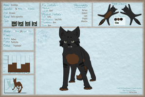 Branchpaw[legs] 2013 Reference by Warriors-horse