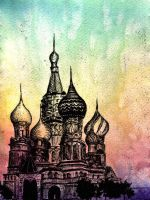 St. Basil's Cathedral by somewherelse
