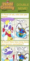 PKMN Crossing - Double Meme (Hickory/Lycie) by Lhumina