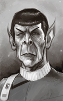 Spock by clc1997