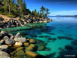 Tahoe morning by MartinGollery