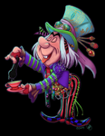 Mad T Hatter by katseartist