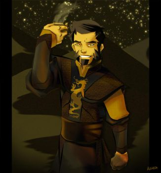 Young Iroh by asherluck