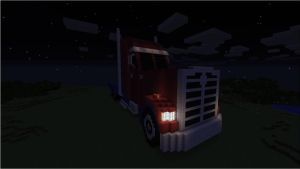 Transformers: Prime Optimus (Truck) - Night by NumairSalmalin