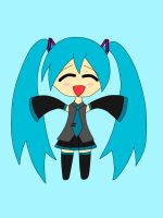 (Baby Miku :3) Miku wants a Hug! by LukaChan13