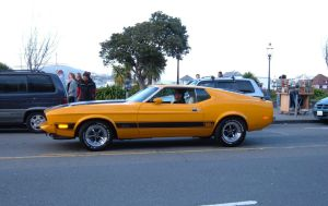 1970 Ford Mustang Mach 1 by TheCarloos