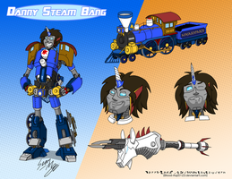 Grumpformers: Danny 'Steam' Bang by Blood-Asp0123