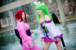 Code Geass: Kallen and C.C. by VariaK
